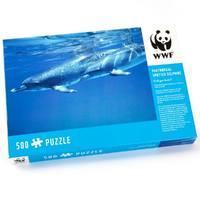 WWF Puzzles: Dolphin 500 Piece Jigsaw Puzzle