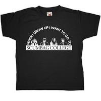 Young Ones Kids T Shirt - Scumbag College